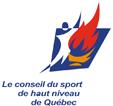 Logo Le conseil du sport de haut niveau de Québec